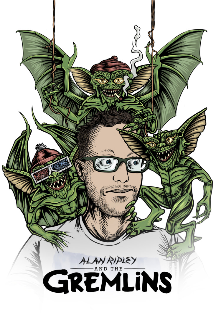 Alan Ripley and the Gremlins