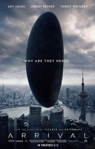 Arrival | Poster ©Sony Pictures Releasing GmbH