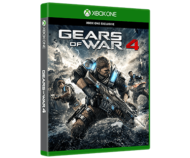 Gears of War 4 | Cover ©Microsoft, The Coalition