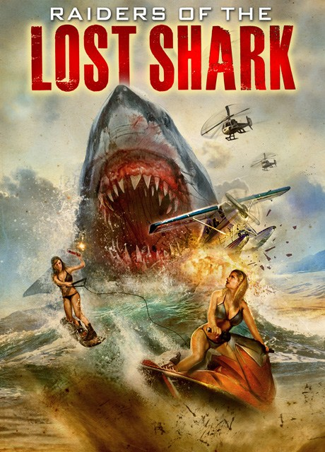 Raiders of the Lost Shark Cover